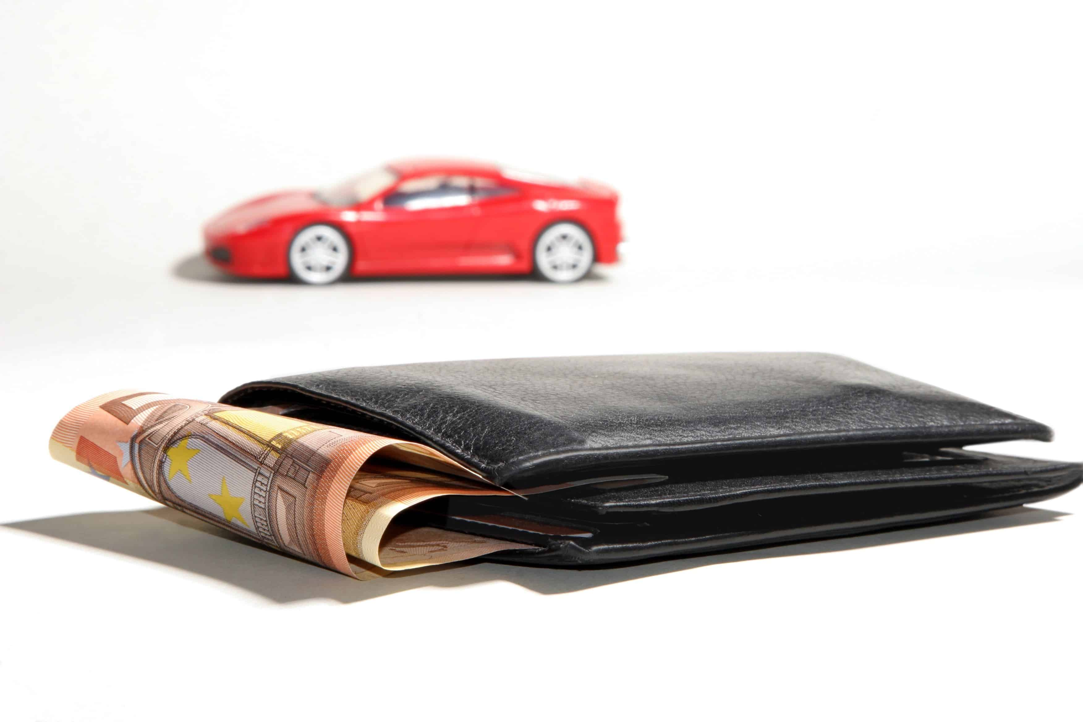 Money & cars can be considered wealth to be divided.