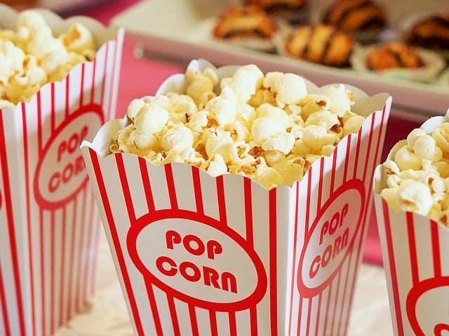 Popcorn you can get a Cineplex Coquitlam
